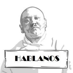 hABLANOS BLACK AND WHITE